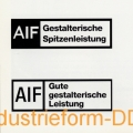 Gutachtungs-(Zertifikations-)Stempel des AIF