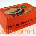 Aufgussbeutel-Packung